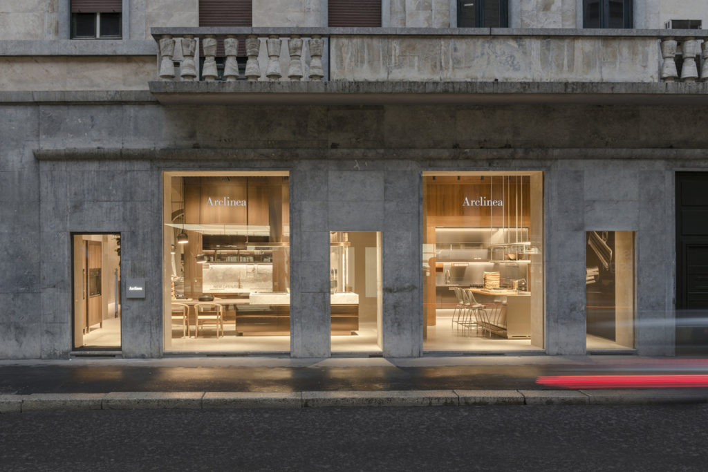 Nouveau Showroom de Milan